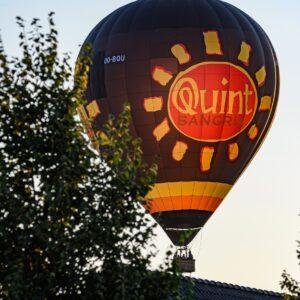 Ballonvaart Oudenaarde